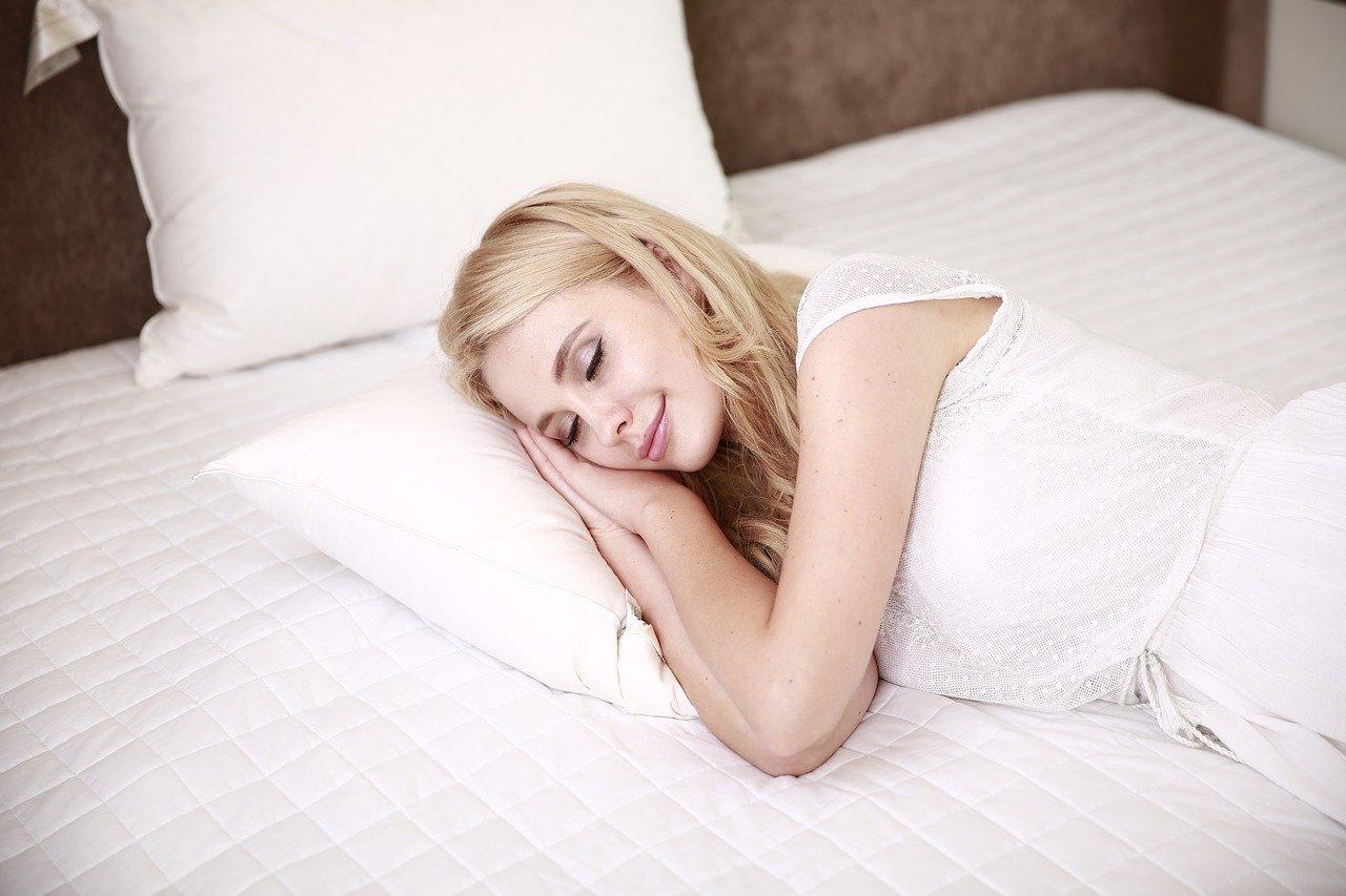 people, woman, sleep