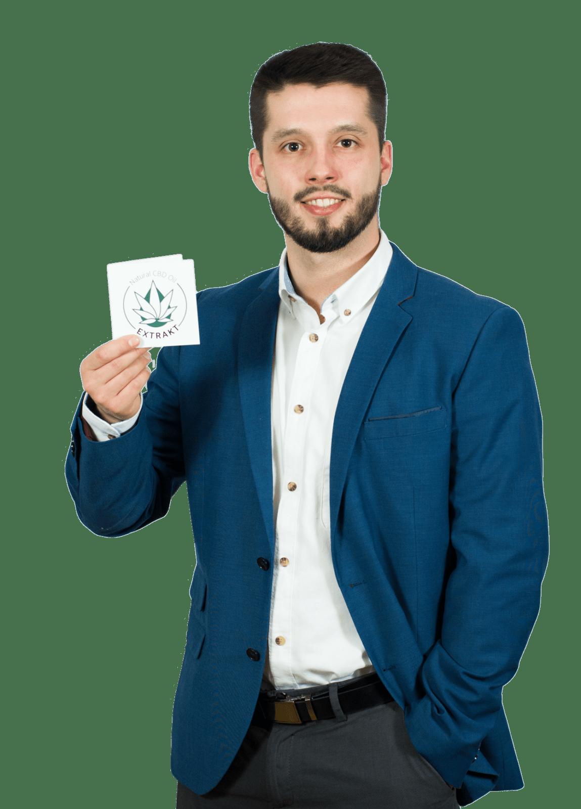 Piotr Dzikowski Terapeuta Konopny Natural CBD Oil
