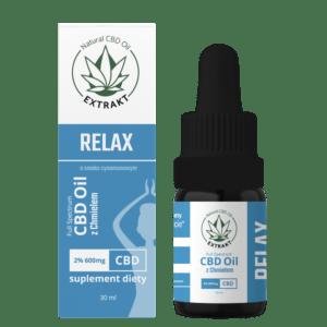 Chmiel + CBD - olejek CBD Relax