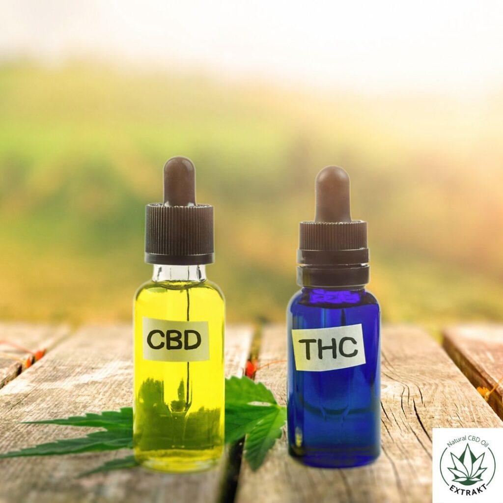CBD, a THC we krwi